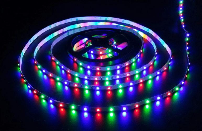 Многоцветное светодиодное оборудование