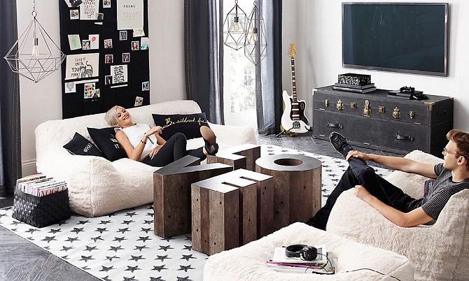 Комната подростка в современном стиле