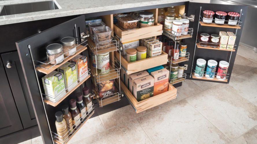 Хранение круп и других продуктов на кухне
