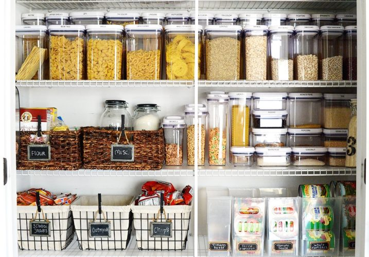 Организация хранения круп на кухне