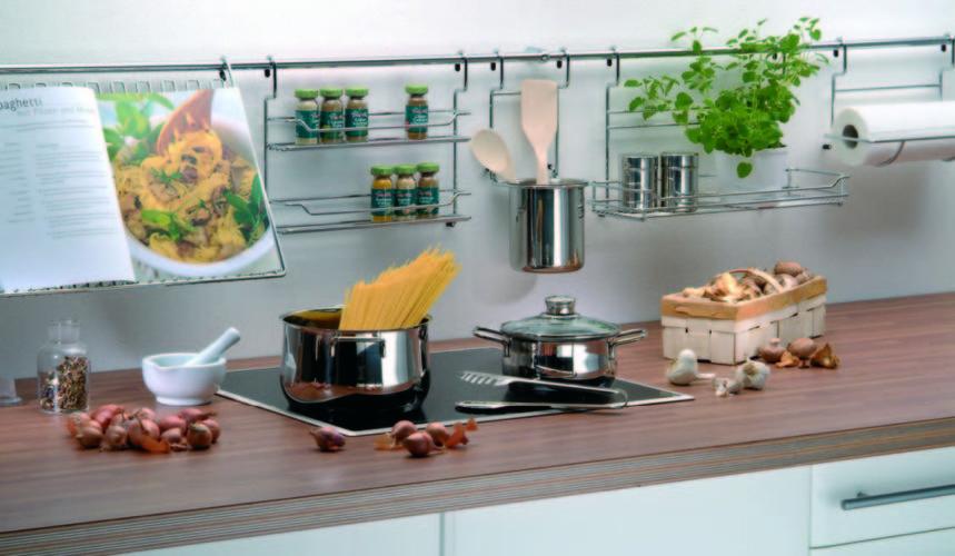 Идея хранения мелочей на кухне
