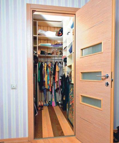 Компактная гардеробная