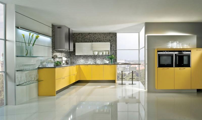 Наливной пол на кухне
