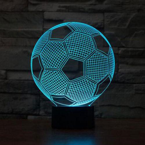 Неоновый светильник в виде футбольного мяча с АлиЭкспресс