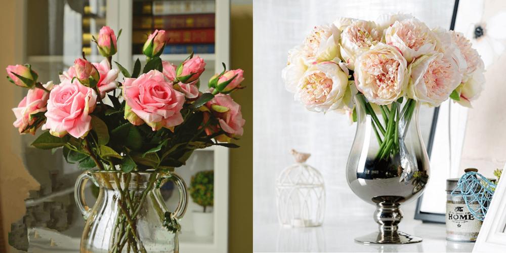 Искусственные цветы с Aliexpress
