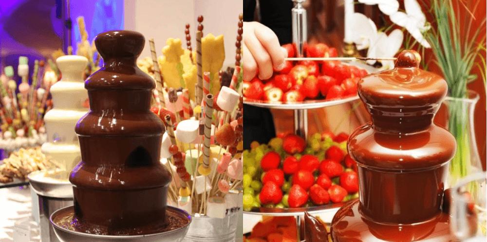 Шоколадный фонтан с AliExpress