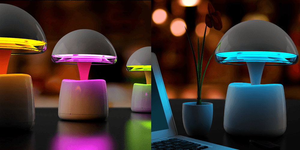 Необычные настольные светильники с АлиЭкспресс