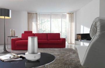 Увлажнитель воздуха в гостиной