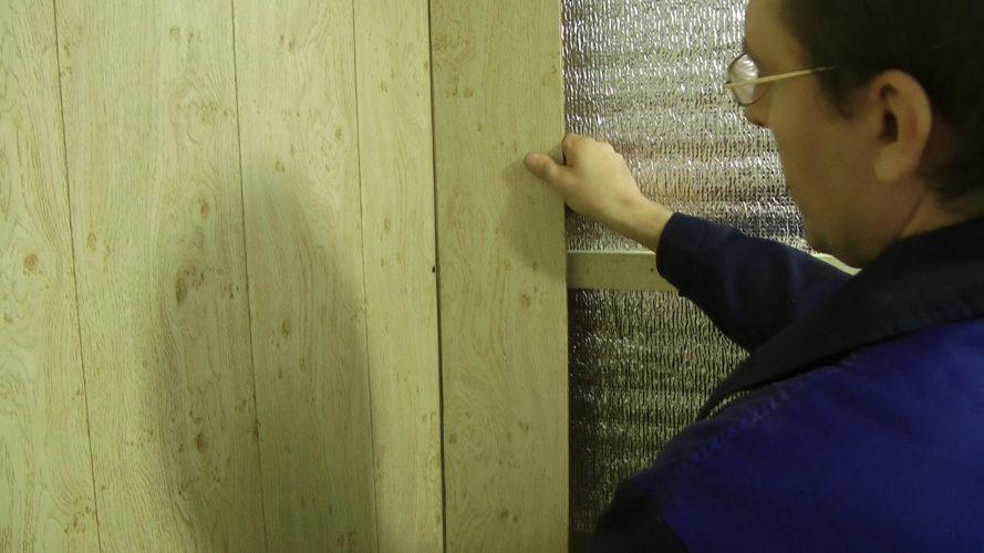 Монтаж МДФ-панелей на стену