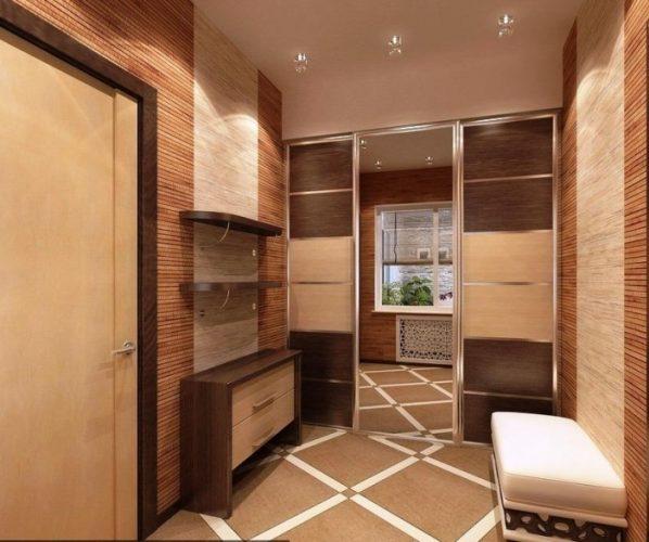 Планировка прихожей в однокомнатной квартире 38 кв м