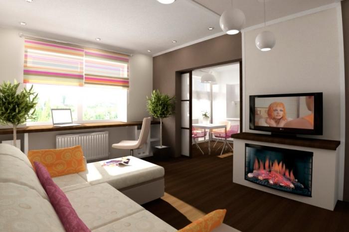 Планировка однокомнатной квартиры 38 кв м