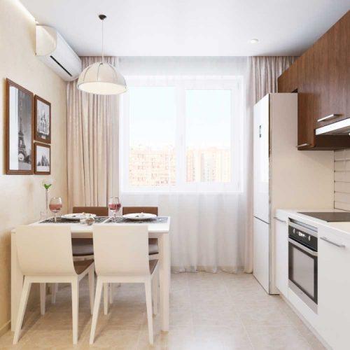 Планировка кухни в однокомнатной квартире 38 кв м