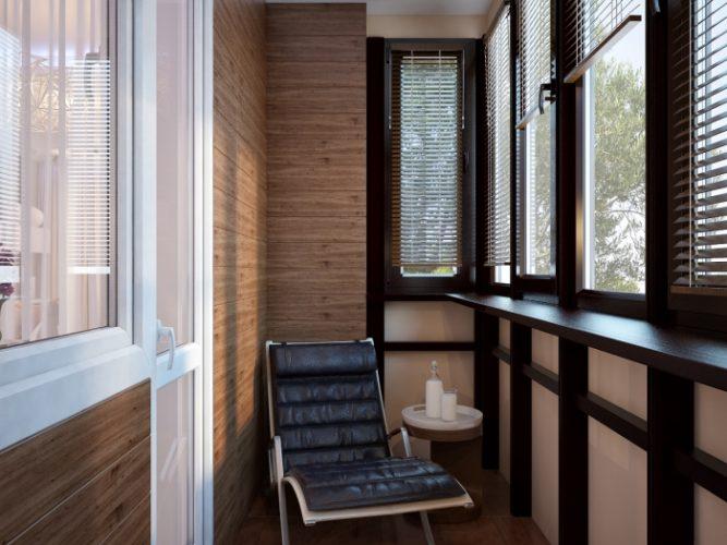 Дизайн лоджии в однокомнатной квартире 38 кв м