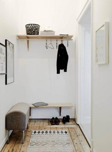 Дизайн прихожей в однокомнатной квартире 18 кв м