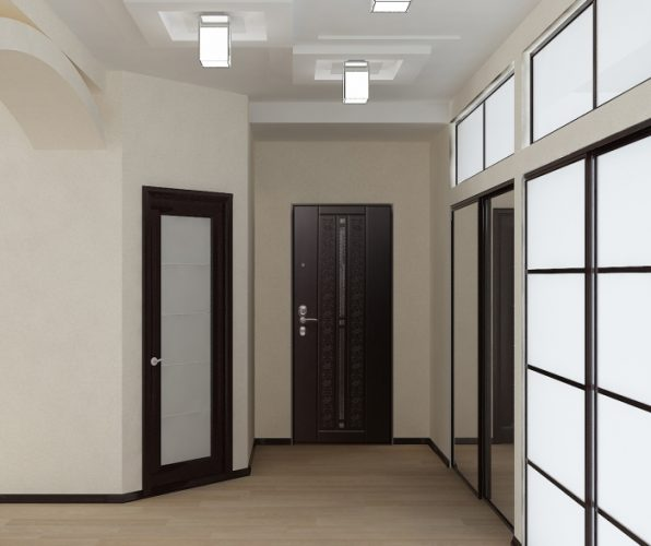 Планировка прихожей в однокомнатной квартире 18 кв м