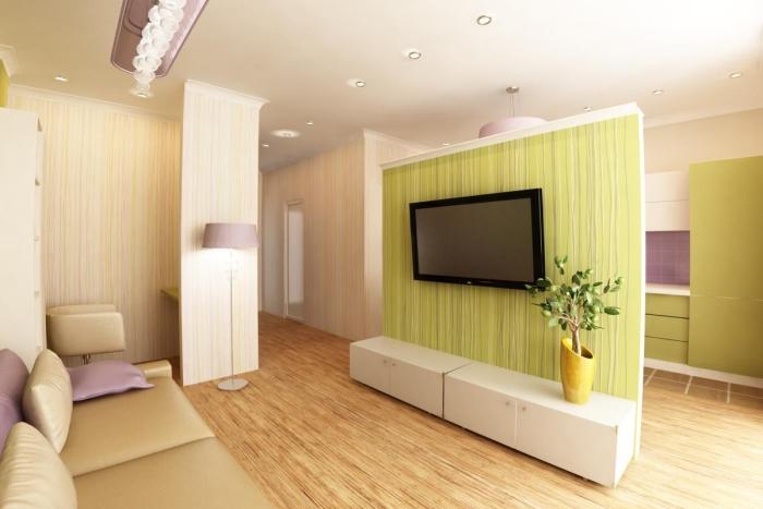 Дизайн однокомнатной квартиры 18 кв м