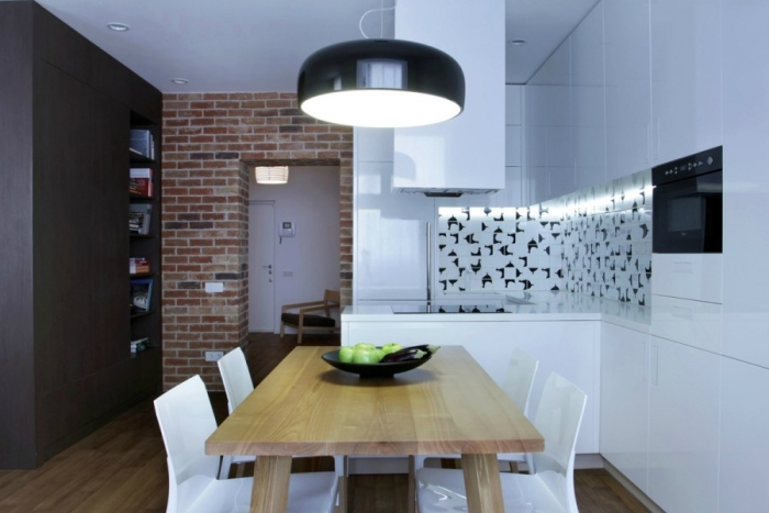 Дизайн кухни в квартире 18 кв м