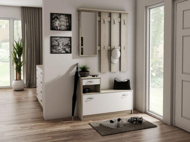 Дизайн прихожей в квартире 30 кв м