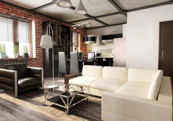 Планировка и дизайн однокомнатной квартиры 30 кв м