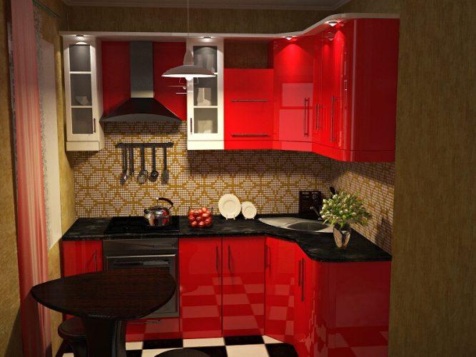 Дизайн и планировка кухни в однокомнатной квартире 40 кв м