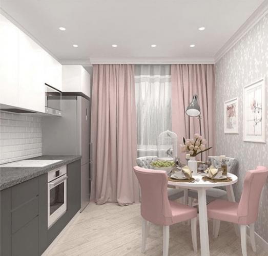 Дизайн однокомнатной квартиры 40 кв м