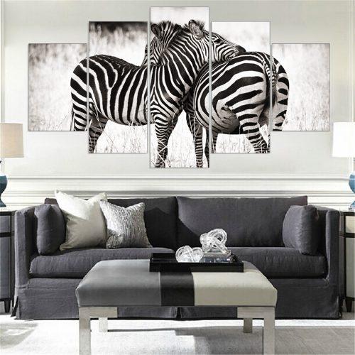 Зебра в интерьере
