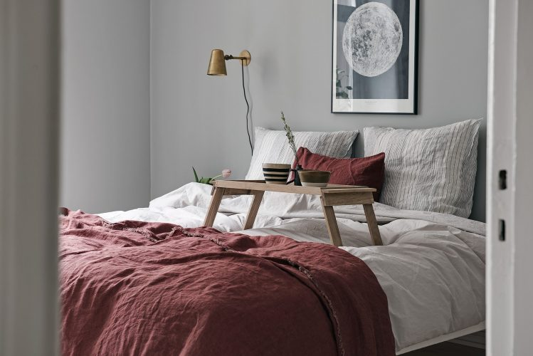 Минималистичная спальня