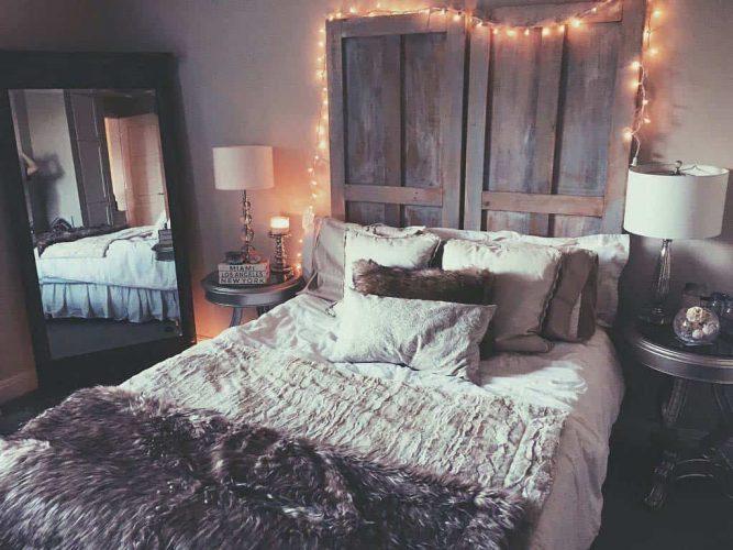 Атмосферная спальня