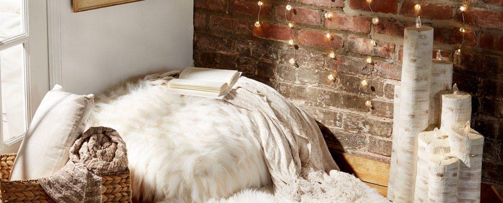 Уютный уголок в спальне