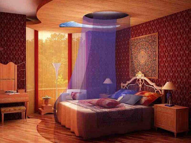 Спальня в индийском колониальном стиле