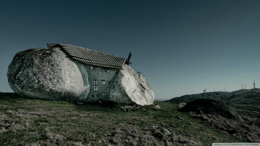 дом-камень