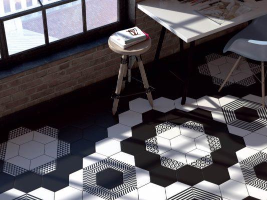 керамическая плитка в отделке помещения