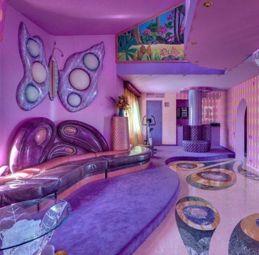 Безвкусный дизайн гостиной