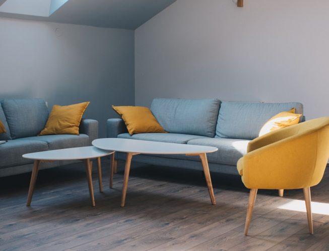 Округлая мебель