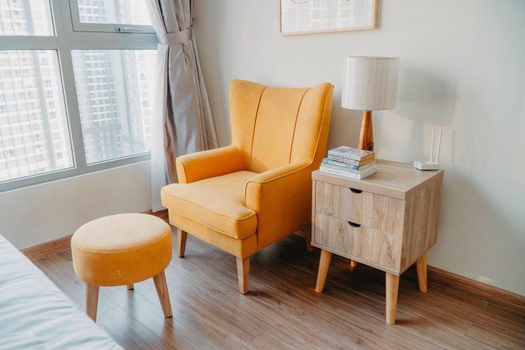 Жёлтое кресло