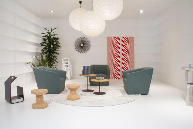 Цвет интерьера и форма мебели в стиле 70-х