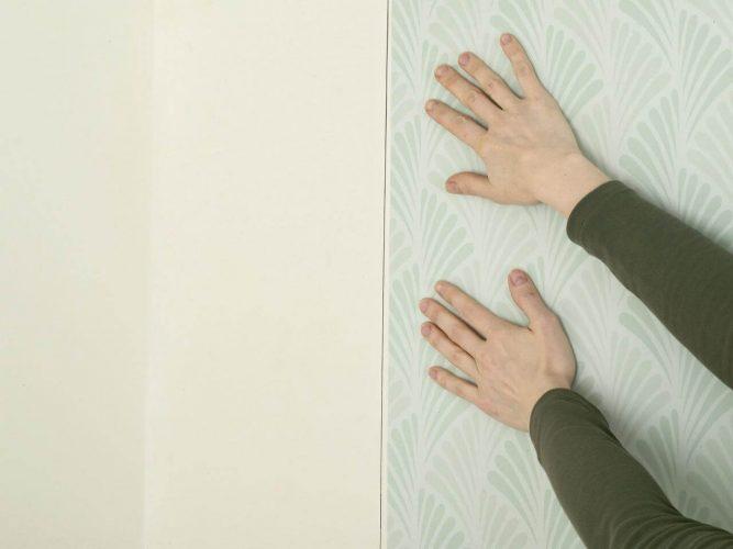 Прочерчивание полосы на стене