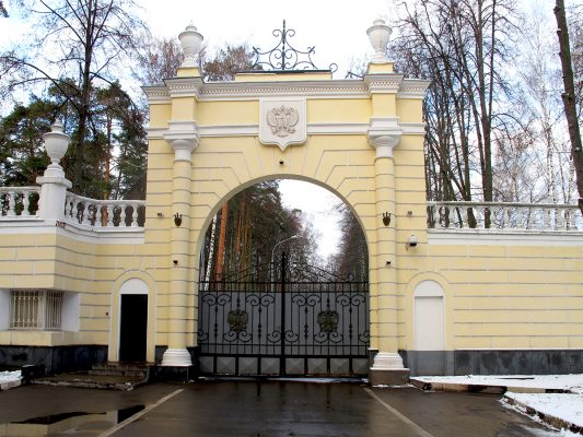 Где живёт Путин