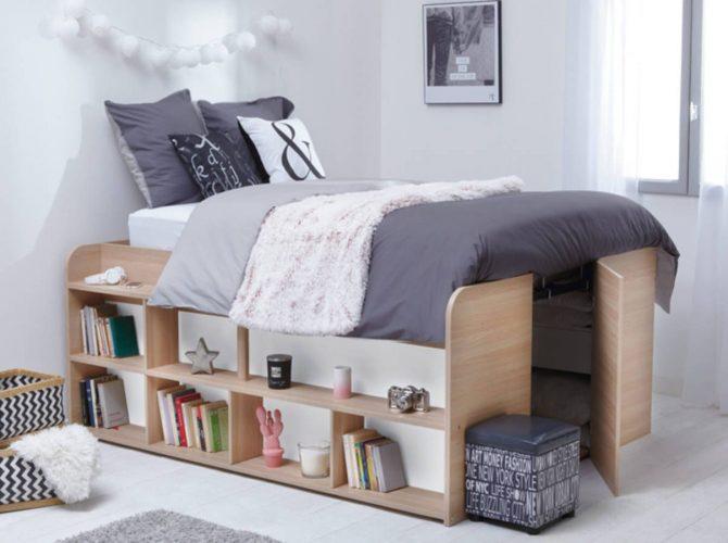Потайная комната под кроватью