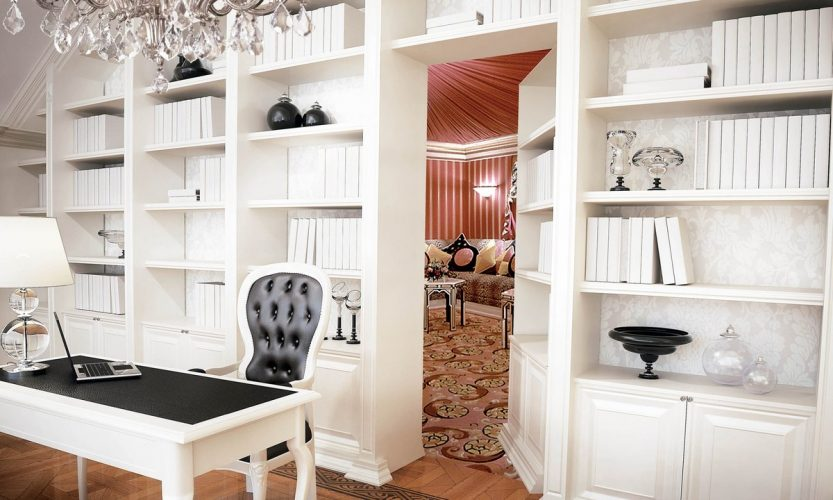 Потайная комната за шкафом