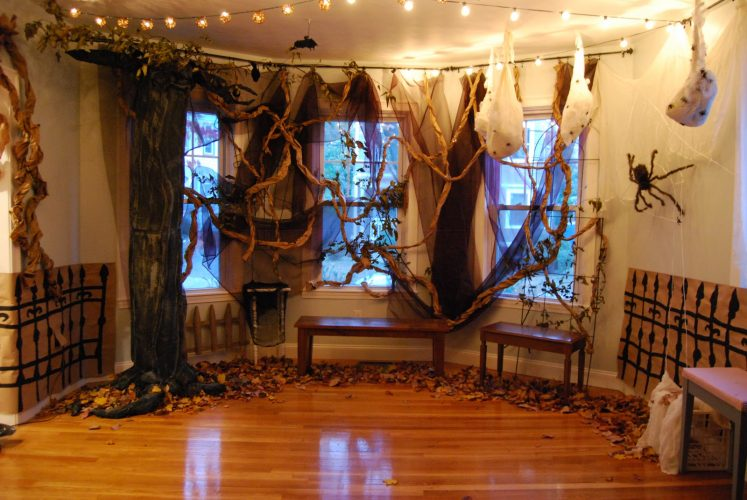 Гостиная на Хэллоуин
