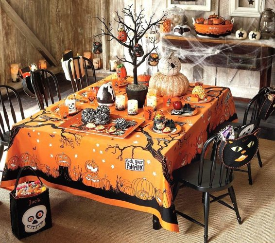 Декор кухни на Хэллоуин