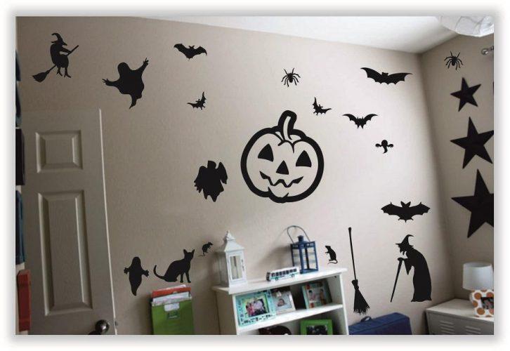 Оформление детской на Хэллоуин