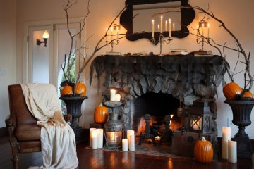 Декор дома на Хэллоуин