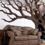 Дерево в интерьере: фото для вдохновения