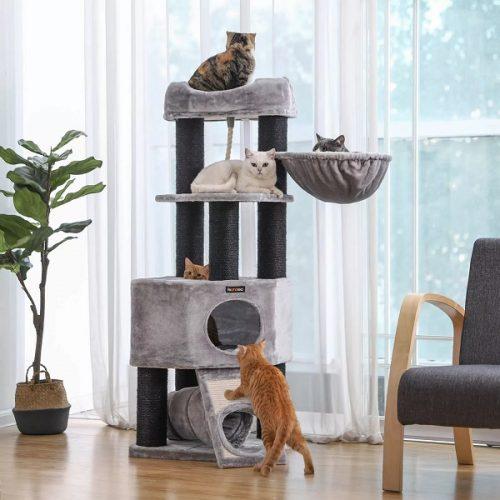 Многоуровневый домик для кошек