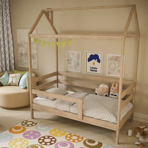 Кровать-домик без балдахина
