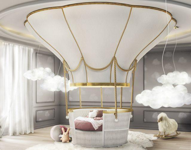 Кровать-воздушный шар