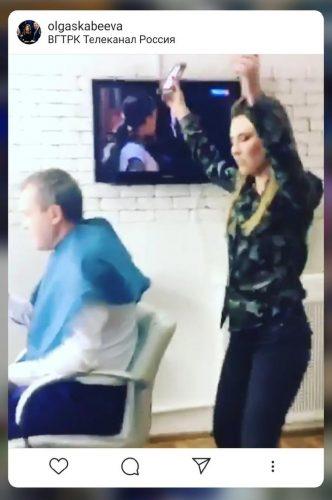 Видео из квартиры Ольги Скабеевой и Евгения Попова