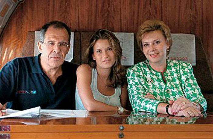Семья Сергея Лаврова